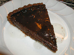 Spiced Chocolate Torte with Bay Leaf Syrup