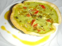 Five Pepper Tartlet