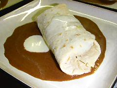 Enchiladitas with mole