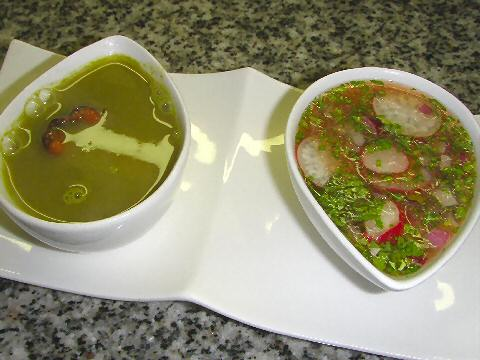 Duo of Radish Soups