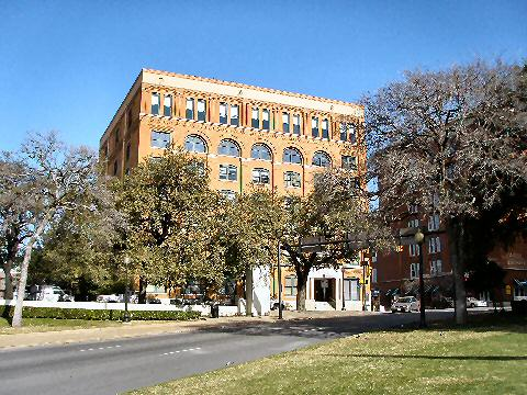 Book Depository, grassy knoll