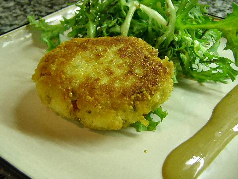 Trout and Millet Cakes