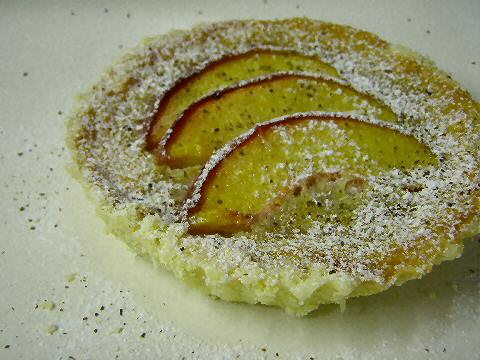 Fresh Peach and Rooibos Tart