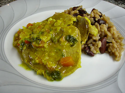 Indio Viejo and Gallo Pinto