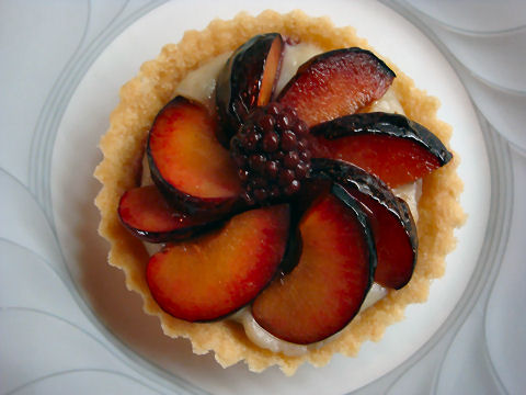 Purple Plum Tartlet