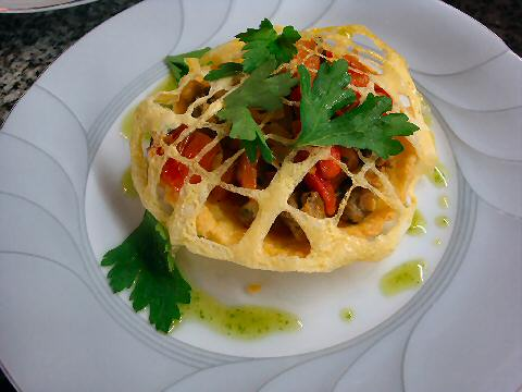 Cockle tartlet