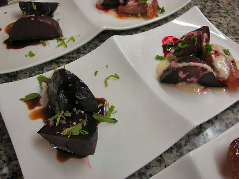 Duo of Roasted Beets