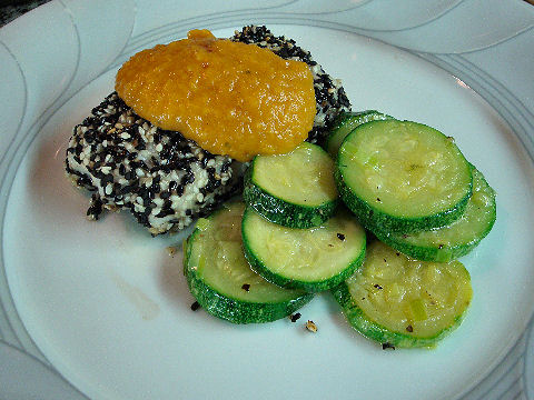 Sesame Crusted Roosterfish