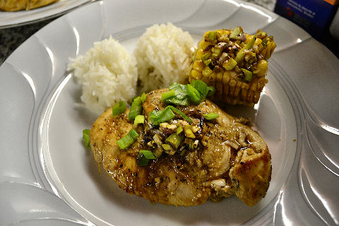 Lime Pepper Chicken