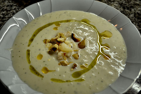 Cauliflower Gazpacho