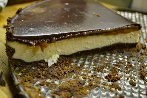 Milky Way Cheesecake