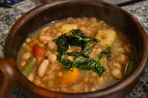 Four Bean Soup
