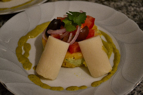 Heart of Palm Causa