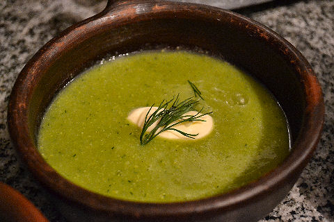 Chilled Green Bean Soup