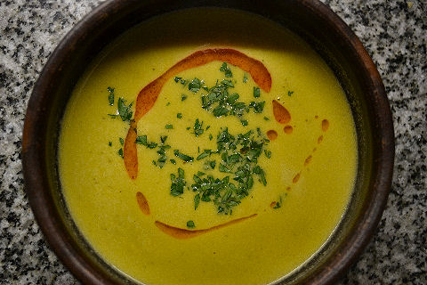 Brussels Sprout Bisque