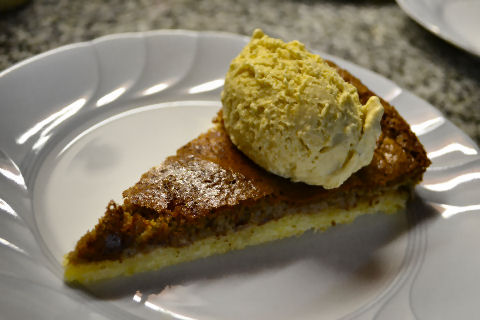 Apple Butter Tart, Cinnamon Cheddar Ice Cream