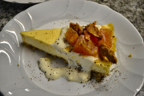 Papaya Cheesecake