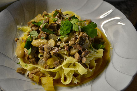 Tagliatelle with Veal Tongue Sugo