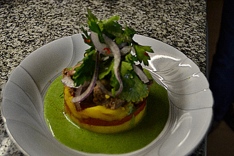 Chicken Liver Causa