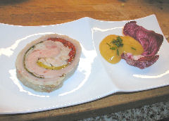 Roulade of Veal and Sweetbreads