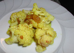 Cauliflower Escabeche - Take 1