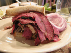 2nd Avenue Deli - pastrami & chopped liver