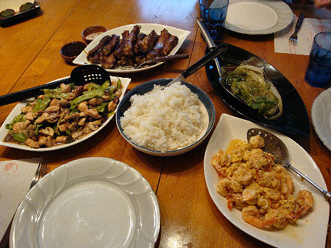 Four Chinese Meals - southern
