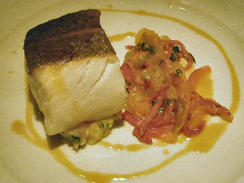 81 - cod with piperade and olive oil potatoes