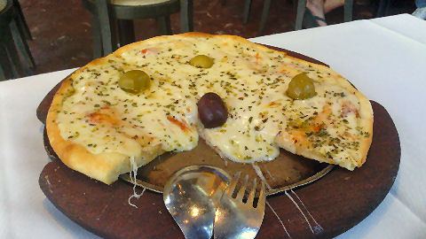FuenSanta pizza