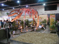 Dinosaur at Expo Patagonia