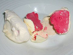 Raspberry merengue