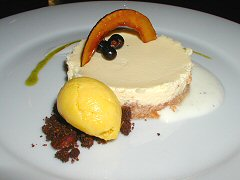 Sucre - coconut cheesecake