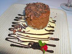 Teatriz - chocolate almond tower