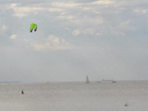 Parasailing at Peru Beach