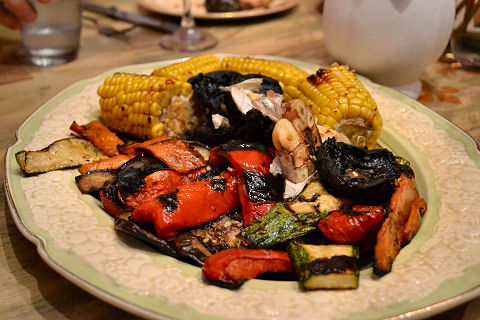 Adentro - grilled vegetables