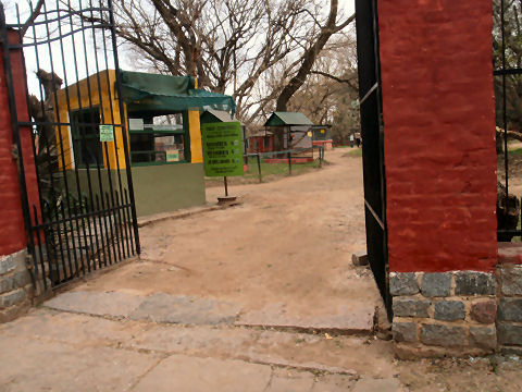 San Antonio de Areco - municipal zoo and botanic garden