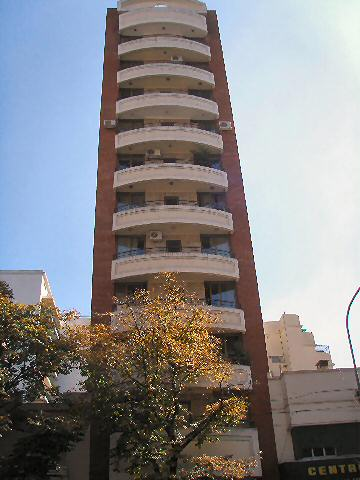 Barracas - apartment building sticking out like the proverbial sore thumb