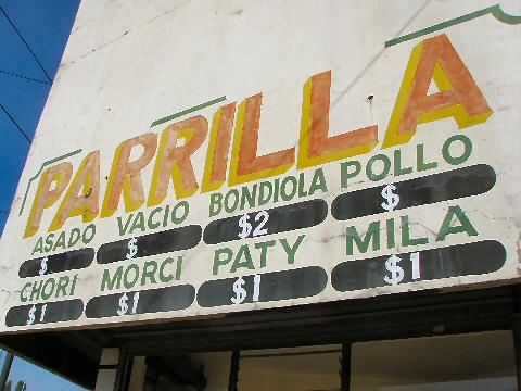Barracas - local parrilla