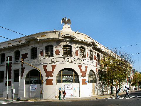 Barracas - former El Aguila choclate factory, now part of an Easy home repair store