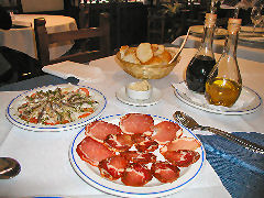 Betanzos - appetizers