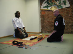 Sifu Shamburger talks about the road to becoming a blackbelt