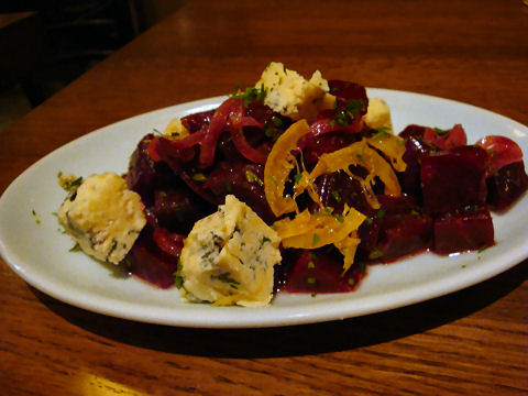 Brindle Room - Salt Roasted Beets
