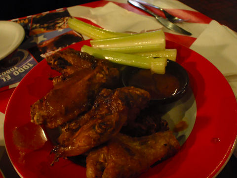 TGI Fridays Buffalo Wings - Puerto Madero