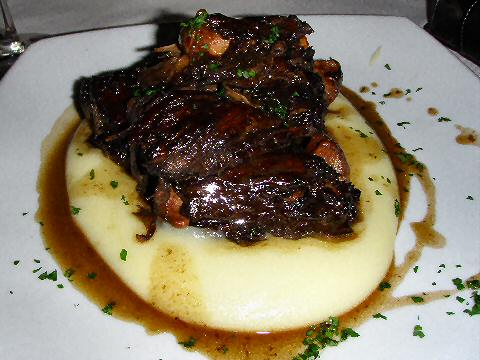 Burzako - oxtail braised in red wine