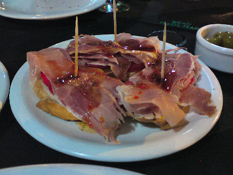 Cafe San Juan - jamon crudo