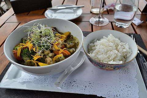 Captain Cook - green curry