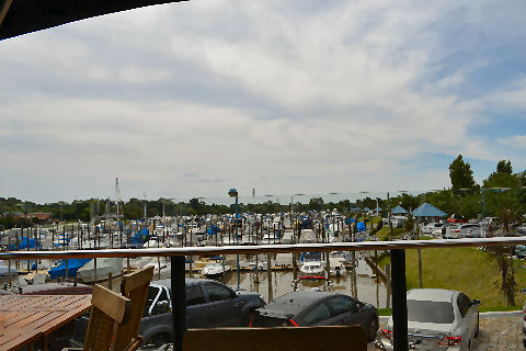 View of marina from Captain Cook