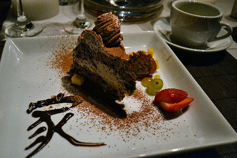 Casa Mun - chocolate mousse cake