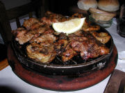 Las Cholas mixed grill