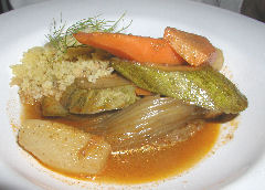 Christophe - vegetable plate